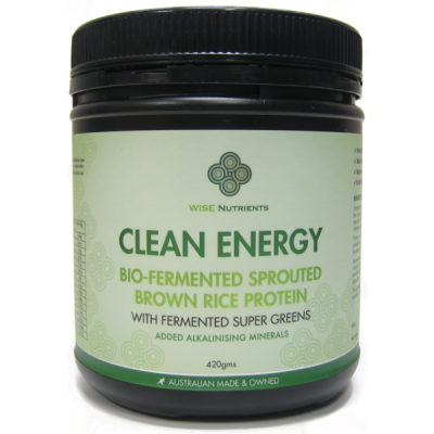 Clean Energy Protein with Super Greens 420g