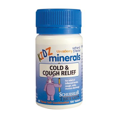 Cough & Cold Relief Tissue Salts (Schuessler) 100 tabs