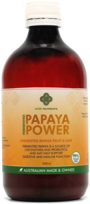Papaya Power Bio Fermented Liquid 500ml